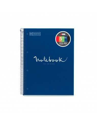 Notebook Emotions Tapa Cartón Extra Rígido A5 Rayas 120h