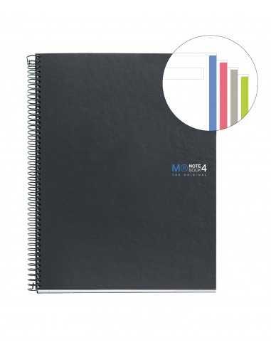 NoteBook Original Cartón Grafito Liso A5 160h