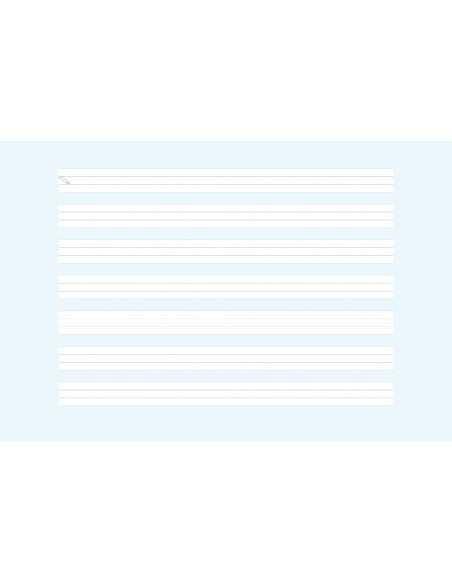 Cuaderno Rubio Pauta Montessori 8mm 4º