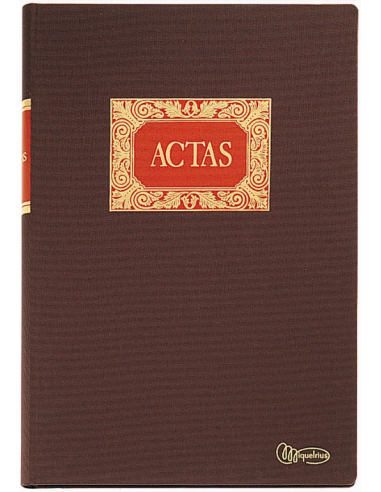Libro Actas Clase R
