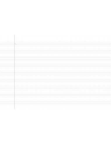 Cuaderno Rubio Pauta Montessori 6mm 4º