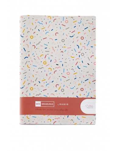 Cuaderno Rubio Pauta Doble 4mm 4º