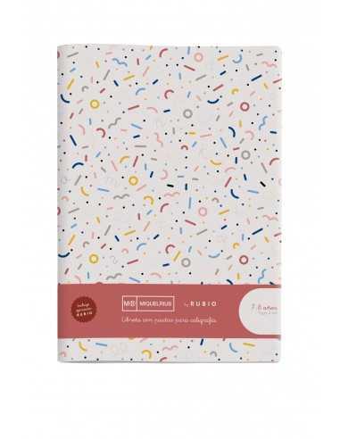 Cuaderno Rubio Pauta Doble 4mm A4