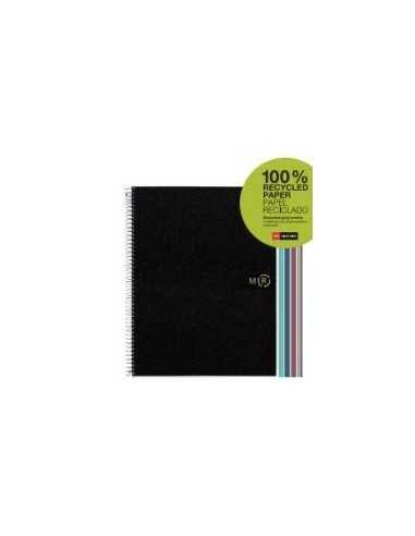 NoteBook Eco Basics Polipropileno Reciclado Rayas A4 120h