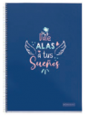 Cuaderno Frases Cartón Extra Rígido 4x4 80h