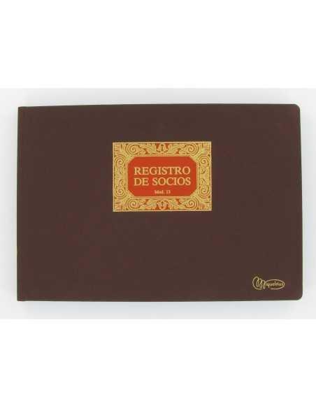 Libro Registro De Socios 100 Hojas Folio Apaisado