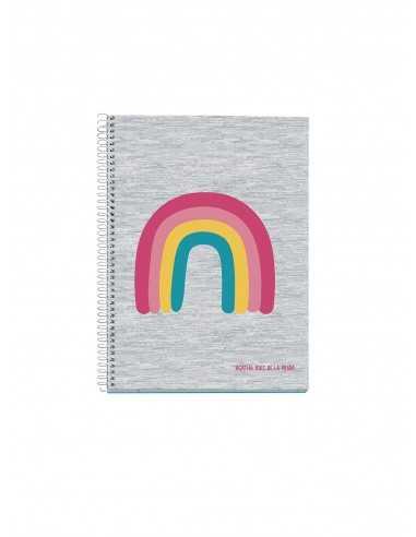 Notebook Agatha Ruiz A5 Gris