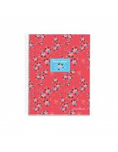Notebook Motivo Flores