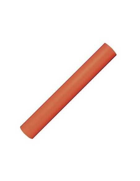 Rollo Material Efecto Tela 80 cm x 3 m Color Naranja Apli 15197