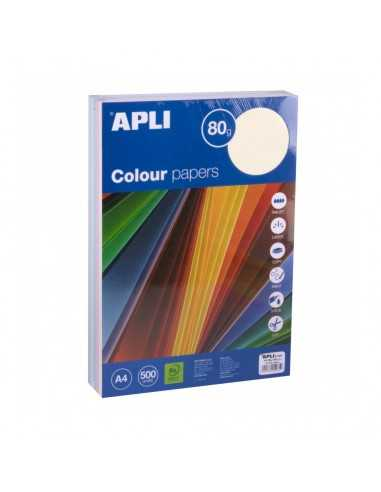 Papel Colores Pastel Surtidos A4 500H Apli 15285