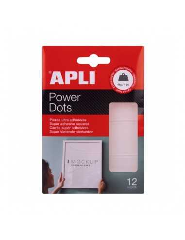 Power Dots Doble Cara 12 un Apli 18779