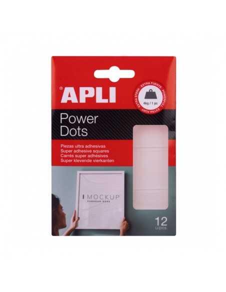 Power Dots Doble Cara 12 un Apli 18779