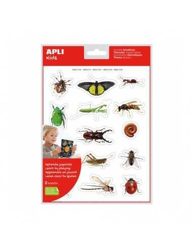 Bolsa Gomets Fotográficos Insectos Apli 18731