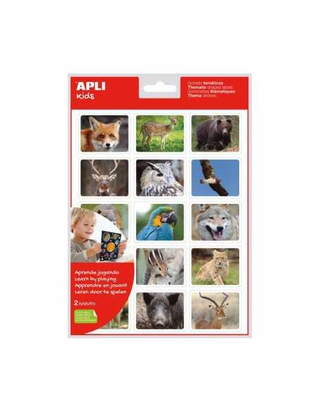Bolsa Gomets Fotográficos Animales en su Hábitat Bosque