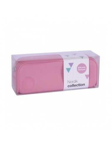 Estuche Silicona Nordik Collection Color Rosa Compraetiquetas