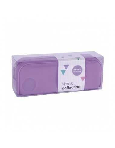 Estuche Silicona Nordik Collection Color Violeta Compraetiquetas