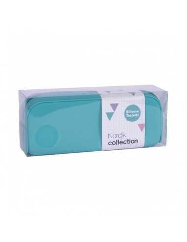 Estuche Silicona Nordik Collection Color Azul Turquesa Compraetiquetas