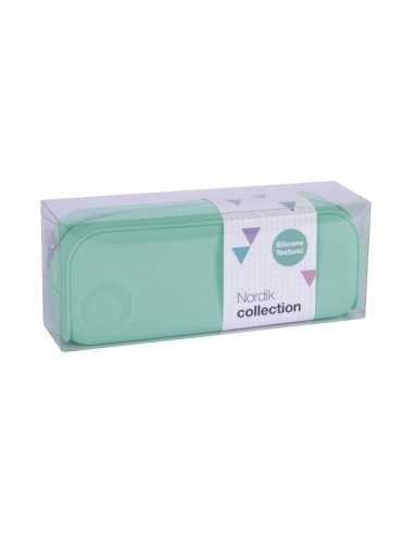 Estuche Silicona Nordik Collection Color Verde Esmeralda Compraetiquetas