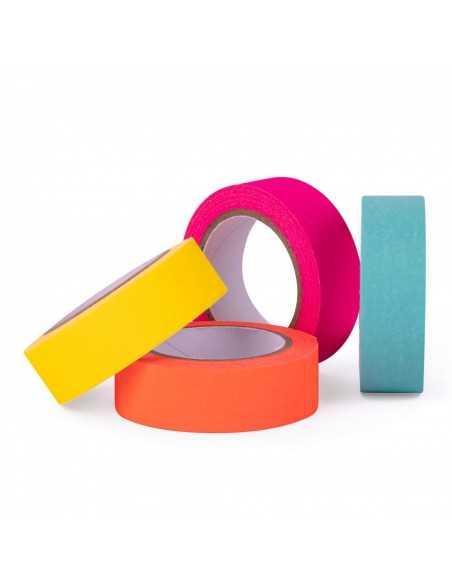 Cintas Adhesivas Papel Washi Colores Fluor Surtidos Compraetiquetas 2