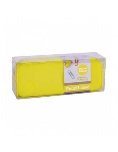 Estuche Silicona Fluor Collection Color Amarillo Compraetiquetas