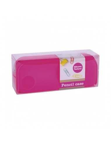 Estuche Silicona Fluor Collection Color Rosa Compraetiquetas