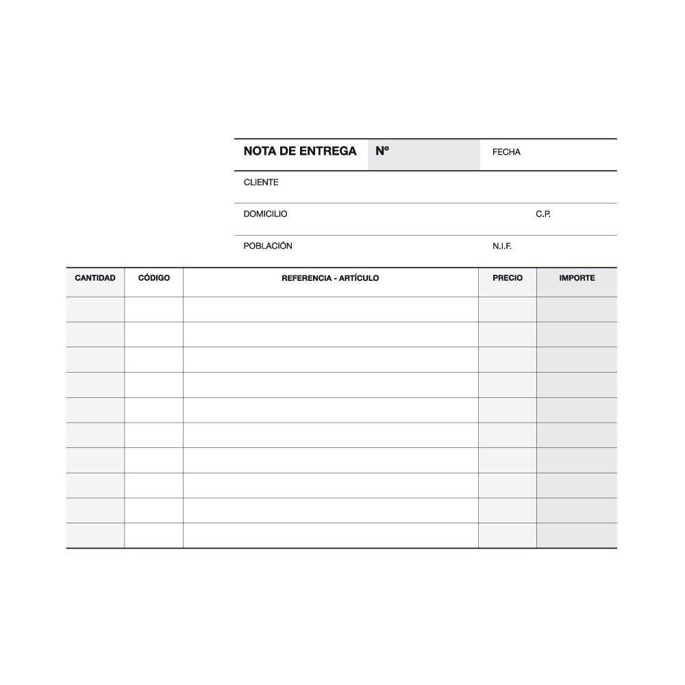 Talonario Notas de Entrega Triplicado 145x105 mm Apli 12697-1