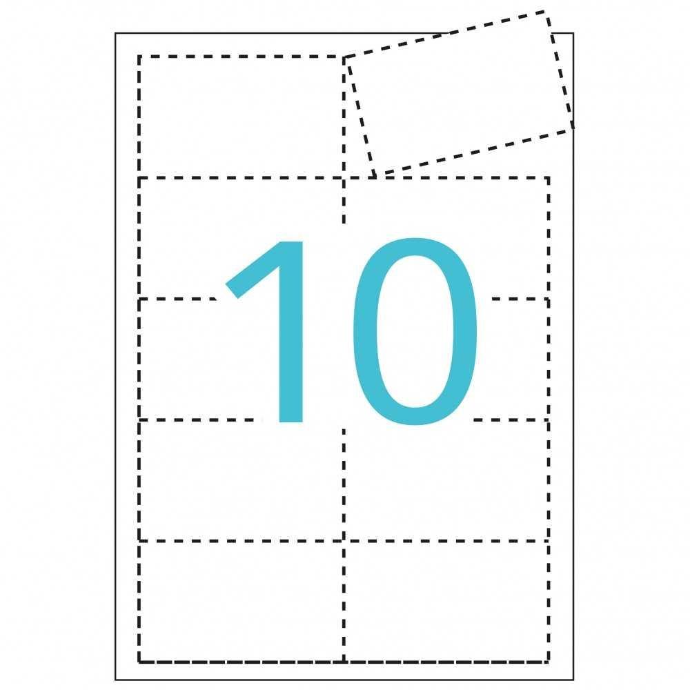 Tarjetas de visita Imprimibles Apli 10608