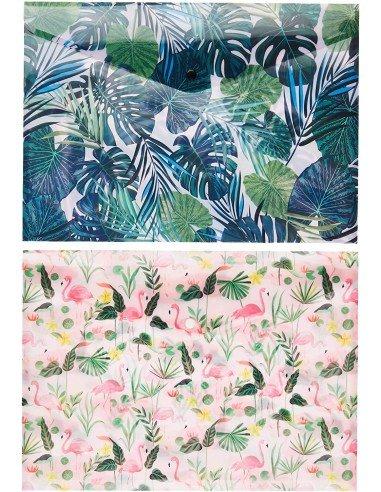 Pack de 2 Sobres Flamingo y Tropical