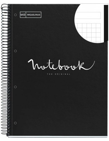 Notebook Emotions Formato A4 80 H Negro