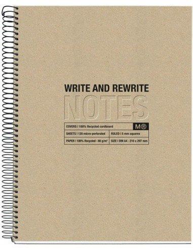 Notebook Craft Formato A5 Reciclado