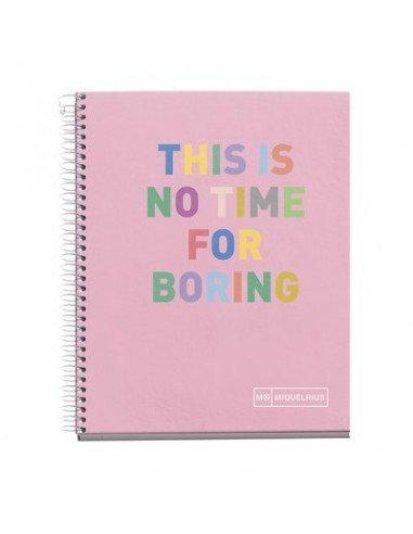 Notebook Hello Formato A6 140 H Rosa