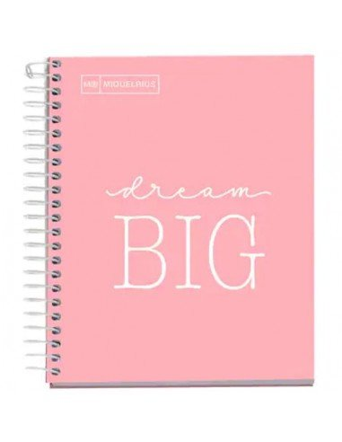 Notebook Messages Formato A6 Color Rosa