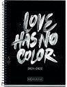 Agenda Escolar Love Has No Color 2021/2022