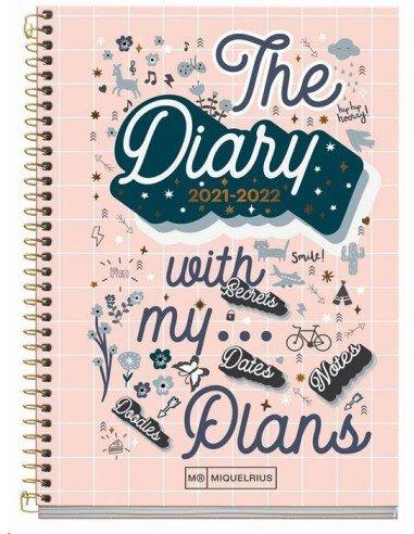 Agenda Escolar My Plans A6  2021/2022
