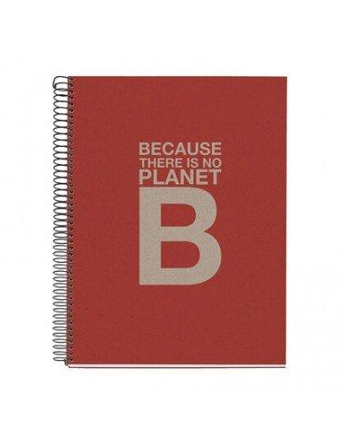 Notebook Cuadrícula A4 Color Rojo Ecoalf by MiquelRius