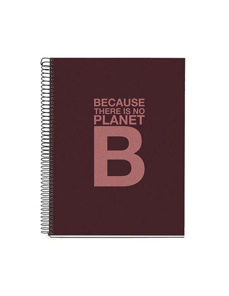 Notebook Rayado A4 Color Burdeos Ecoalf by MiquelRius