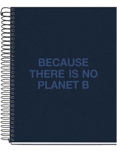 Notebook Cuadrícula A5 Azul Marino Ecoalf by MiquelRius