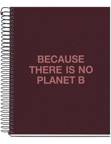 Notebook Cuadrícula A5 Burdeos Ecoalf by MiquelRius