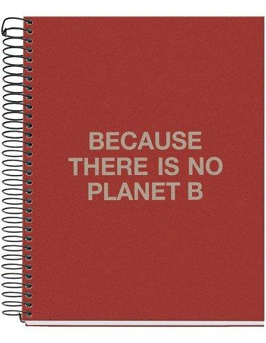 Notebook Cuadrícula A5 Rojo Ecoalf by MiquelRius