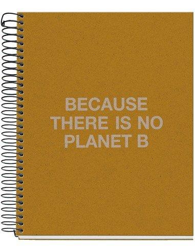 Notebook Cuadrícula A5 Mostaza Ecoalf by MiquelRius