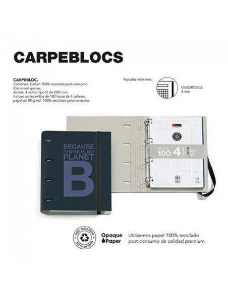 Carpebloc A4 Azul Marino Ecoalf by MiquelRius info