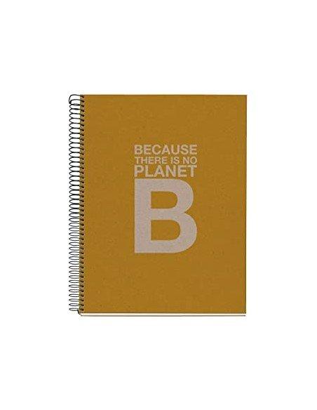 Notebook Cuadrícula A4 Color Mostaza Ecoalf by MiquelRius