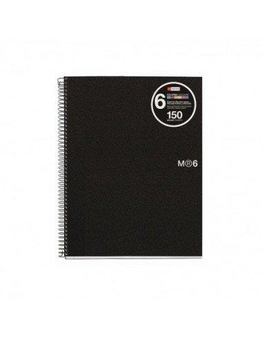 NoteBook Eco Basics Polipropileno Reciclado A6 100h