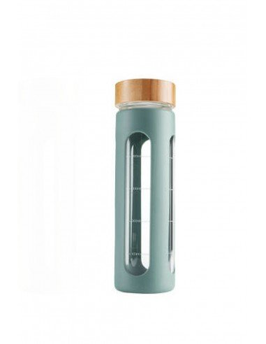 Botella Take Away Vidrio Reciclable 600ml