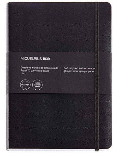 Cuaderno 1839 Leather 4º Sin Índice Cuadrícula 300H