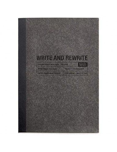 Cuaderno 1839 Just Black Fibra de Papel A5