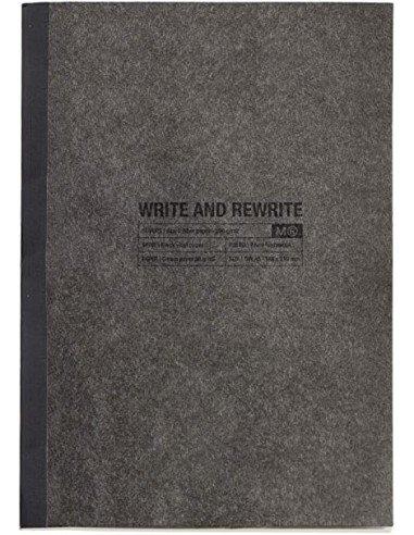 Cuaderno 1839 Just Black Fibra de Papel A4