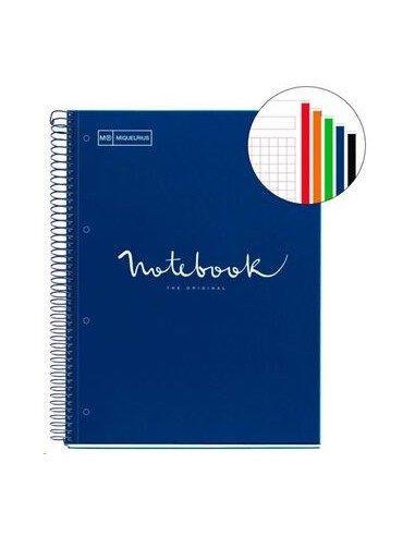 Notebook Emotions Formato A4 120 H Azul Marino