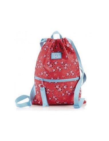 Bolsa Saco Dos Compartimentos Motivo Flowerly