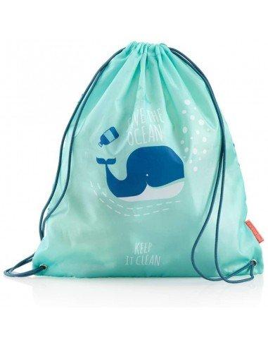 Bolsa Saco Ballena Save The Ocean